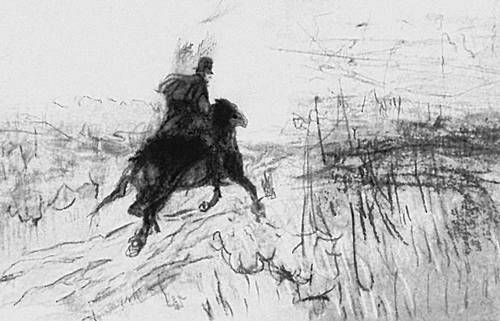 рисунки пушкина: