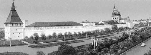 Астрахань. Кремль. 1580-1620