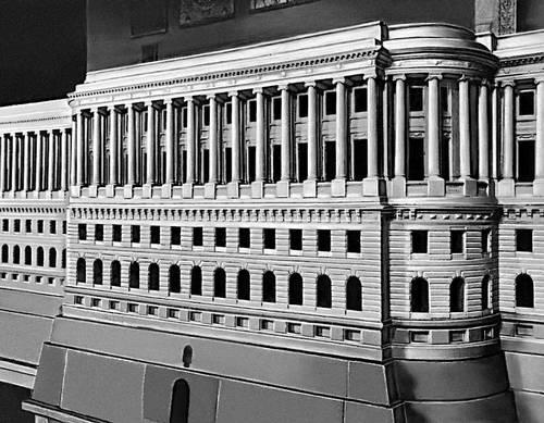 модель Кремлёвского дворца