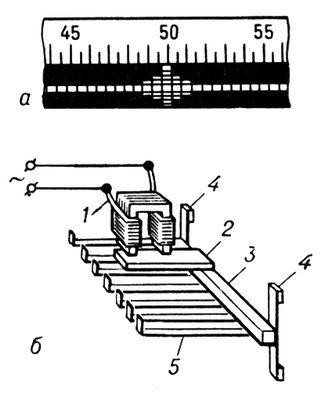б - схема устройства;