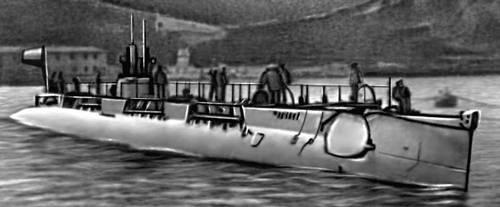 первая подводная байдарка 1964