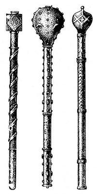 В неолите с металлической в бронзовом