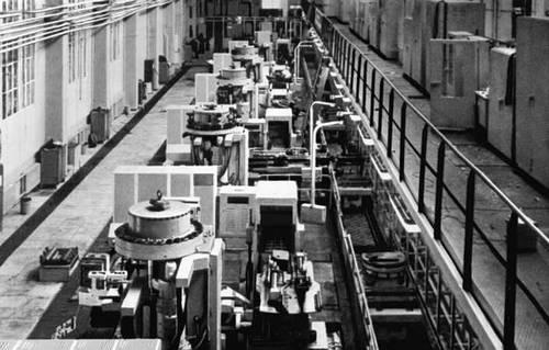 история создания металлообрабатывающие станков: