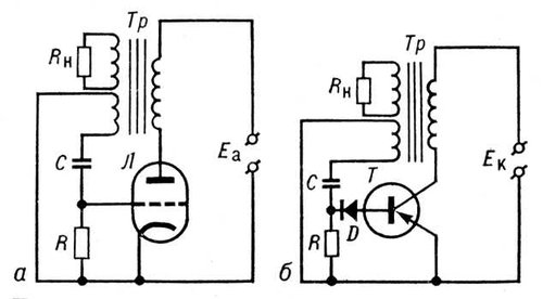 Блокинг-генератор (типовая