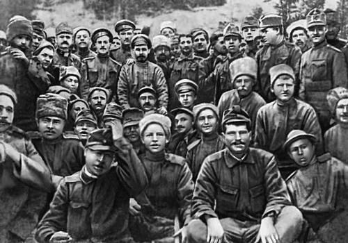 Братание на русско германском фронте