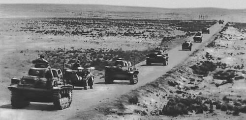 Африканский корпус роммеля в ливии 1941