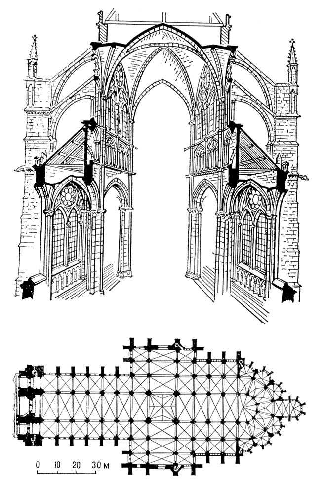 Готический храм (Франция)