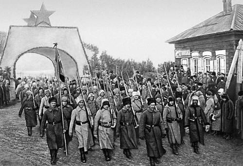Красная армия 1920 иркутск