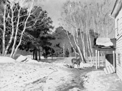 И и левитан март 1895 третьяковская
