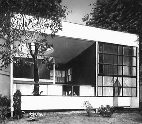 Павильон «Эспри Нуво» на Международной выставке декоративного искусства и промышленности в Париже. 1925. (Совм. С П. Жаннере.)