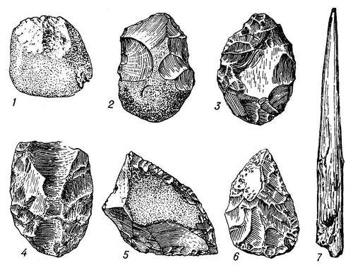 Нижний палеолит 1 олдовайское