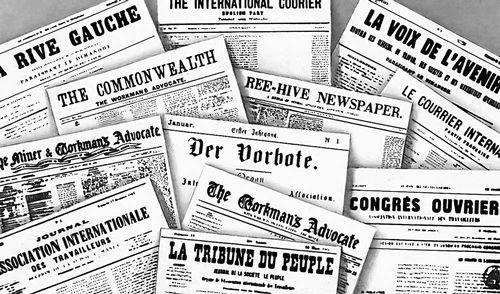 Пресса 1-го Интернационала