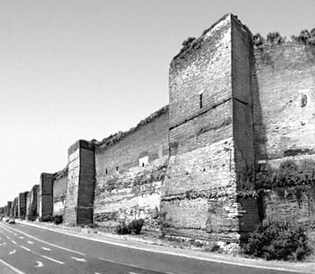 Рим древний стена аврелиана 272