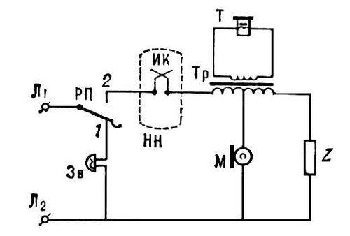 Телефонный аппарат (схема)