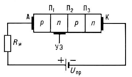 Тиристор (схема)