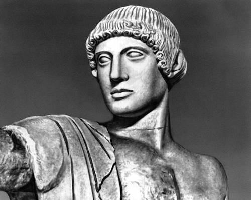 Скульптура ранней классики торс