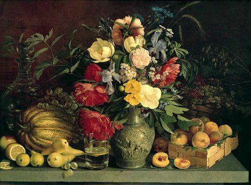 И т хруцкий цветы и плоды 1839